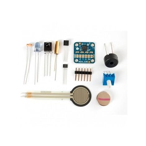 Packs and sensor sets